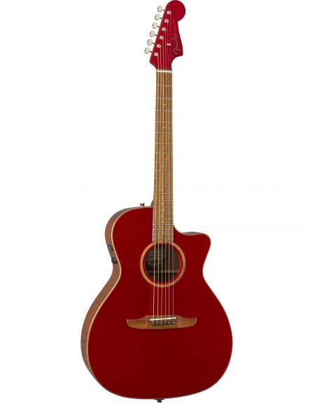Fender Newporter Classic, Pau Ferro, W/Bag, Hot Rod Red Metallic