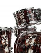 Pearl EXA725S/C715, 5-Piece Drum Set with Hardware, Artisan Catrina's Cry Ltd Edition