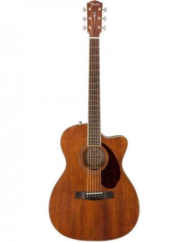 Fender PM-3 Triple-0 NE, All-Mahogany, Includes Deluxe Hardshell Case, Natural