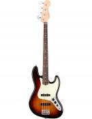 Fender American Professional Jazz Bass®, Rosewood Fingerboard, 3-Color Sunburst