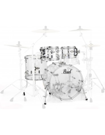 Pearl Crystal Beat Series CRB524P/C730, 4-Piece Shell Set, Ultra Clear