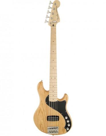Fender Deluxe Dimension™ Bass V, Maple Fingerboard, Natural