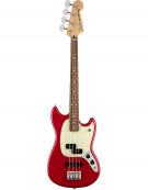 Fender Mustang® Bass PJ, Pau Ferro Fingerboard, Torino Red