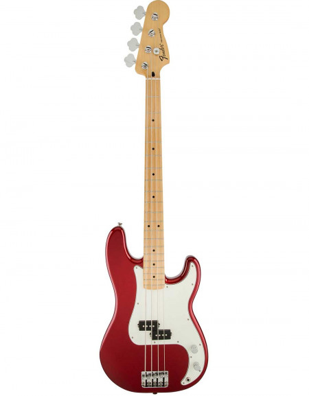 Fender Standard Precision Bass®, Maple Fingerboard, Candy Apple Red, No Bag