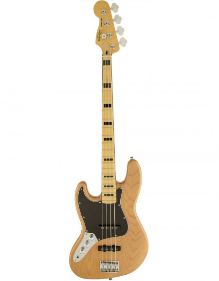 Squier Vintage Modified Jazz Bass® '70s Left-Handed, Maple Fingerboard, Natural