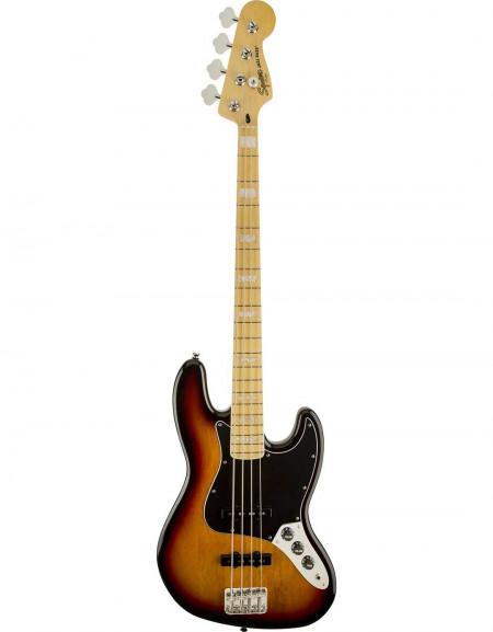 Squier Vintage Modified Jazz Bass® '77, Maple Fingerboard, 3-Color Sunburst