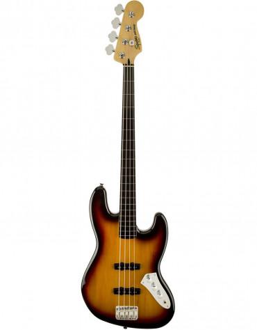 Squier Vintage Modified Jazz Bass® Fretless, Ebonol Fingerboard, 3-Color Sunburst