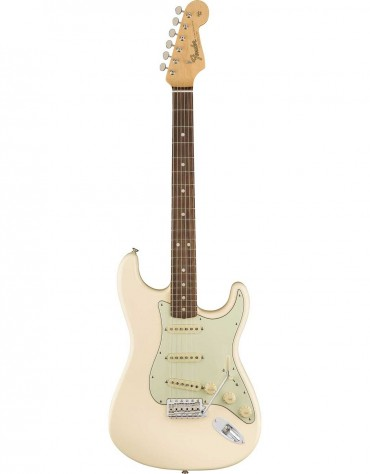 Fender American Original '60s Stratocaster®, Round-Laminated Rosewood Fingerboard, Olympic White