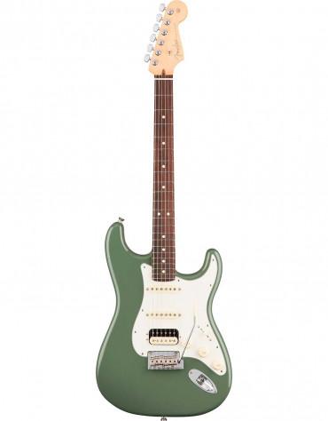 Fender American Professional Stratocaster® HSS Shawbucker, Rosewood Fingerboard, Antique Olive