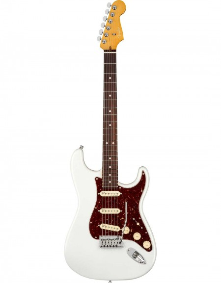 Fender American Ultra Stratocaster®, Rosewood Fingerboard, Arctic Pearl