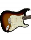 Fender Classic Series '60s Stratocaster®, Pau Ferro, 3-Color Sunburst, w / bag