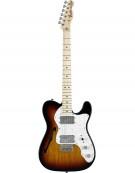 Fender Classic Series 72 Telecaster® Thinline, Maple Fingerboard, 3-Color Sunburst