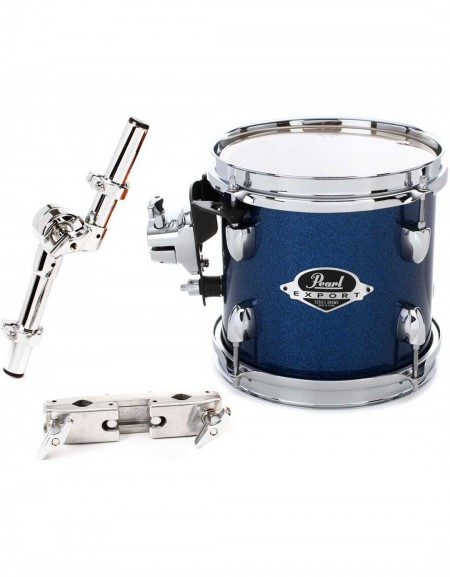 """Pearl Export EXX8P/C702, Tom Pack - 8"""" x 7"""", Electric Blue Sparkle"""