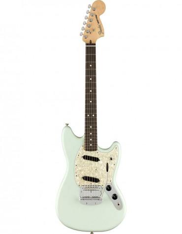 Fender American Performer Mustang®, Rosewood Fingerboard, Satin Sonic Blue