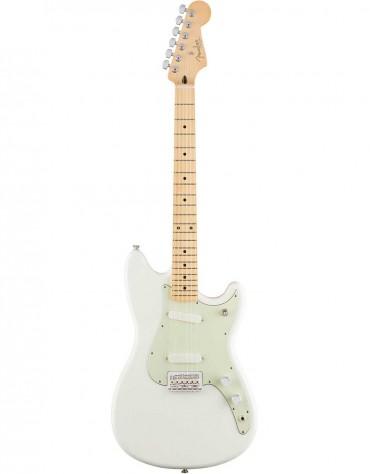 Fender Duo-Sonic, Maple Fingerboard, Arctic White