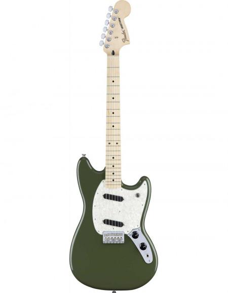 Fender Mustang®, Maple Fingerboard, Olive