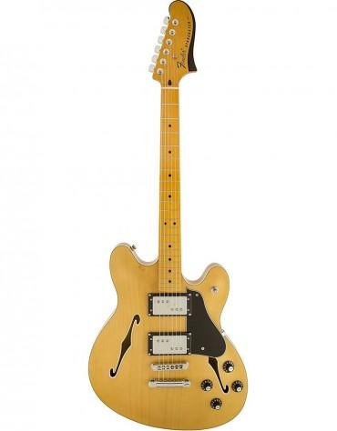 Fender Starcaster® Guitar, Maple Fingerboard, Natural