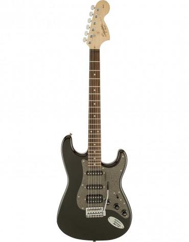 Squier Affinity Series™ Stratocaster® HSS, Indian Laurel, Montego Black Metallic