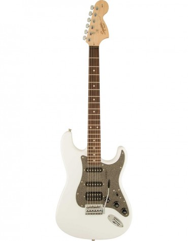 Squier Affinity Series™ Stratocaster® HSS, Indian Laurel, Olympic White