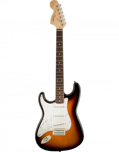 Squier Affinity Series™ Stratocaster® Left-Handed, Indian Laurel, Brown Sunburst