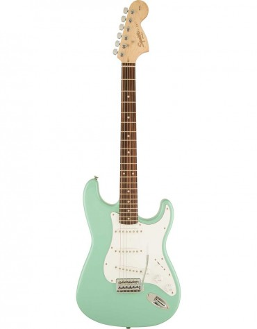 Squier Affinity Series™ Stratocaster®, Indian Laurel, Surf Green