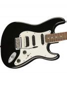 Squier Contemporary Stratocaster® HSS, Indian Laurel Fingerboard, Black Metallic