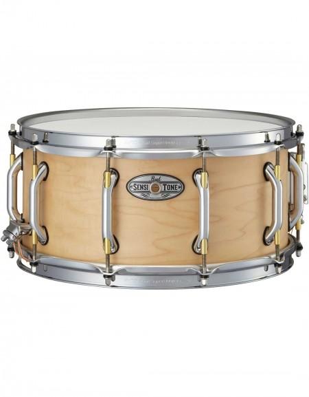 "Pearl STA1465MM/321, Sensitone Premium Maple, 14""x6.5"" Snare Drum, Satin Maple finish"