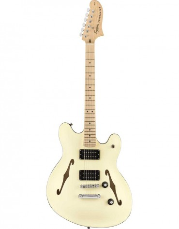 Squier Affinity Series Starcaster, Maple Fingerboard, Olympic White