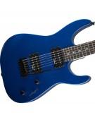 Jackson JS SERIES DINKY™ JS11, AMARANTH FINGERBOARD, METALLIC BLUE