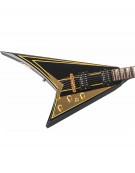 Jackson RR5 Rhoads Black w/Gold Pinstripes - w/JACKSON HARDCASE