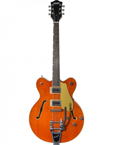 Gretsch G5622T ELECTROMATIC® CENTER BLOCK DOUBLE-CUT WITH BIGSBY®, LAUREL FINGERBOARD, ORANGE STAIN