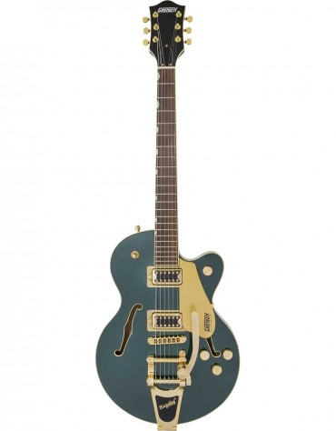 Gretsch G5655TG Electromatic® Center Block Jr. Single-Cut with Bigsby® and Gold Hardware, Laurel Fingerboard, Cadillac Green