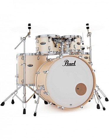 Pearl DMP925SP/C215 Decade Maple, 5-Piece Shell Set with Hardware, Satin Gold Meringue