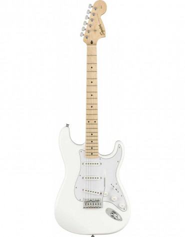 Squier Affinity FSR Series™ Stratocaster®, Maple Fingerboard, Olympic White