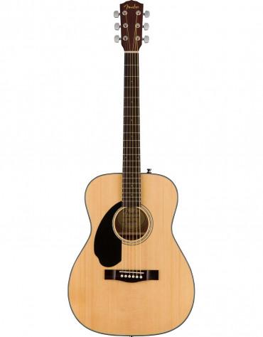 Fender CC-60S Left Handed, Concert Solid Top, Walnut Fingerboard, Natural