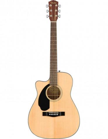 Fender CC-60SCE Concert , Left Handed, Solid Top, Walnut Fingerboard, Natural