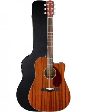 Fender CD-140SCE All-Mahogany, Walnut Fingerboard, Includes Hardshell Case