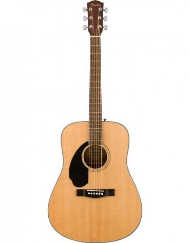 Fender CD-60S Dread LH, Walnut Fingerboard, Natural