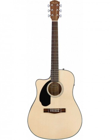 Fender CD-60SCE Dread LH, Walnut Fingerboard, Natural