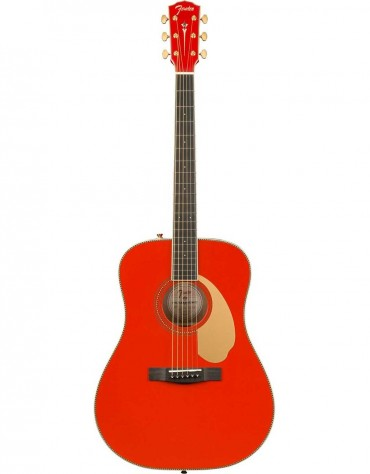 Fender PM-1E Limited Edition Dreadnought in Fiesta Red