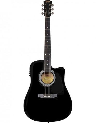Squier SA-105CE, Black
