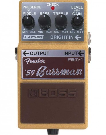 BOSS FBM-1, Fender '59 Bassman