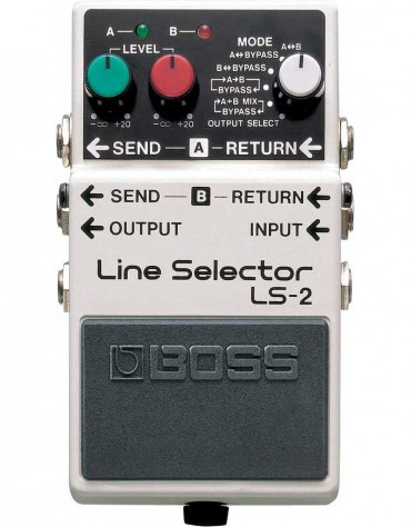 BOSS LS-2, Line Selector