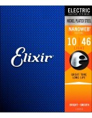 Elixir 12052 Nanoweb Coated - Light / (.010-.046)