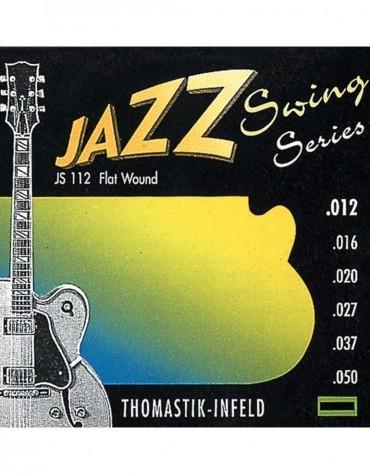Thomastik JS112, 676.727 Strings For Electric Guitar Jazz Swing Series Nickel Flat Wound