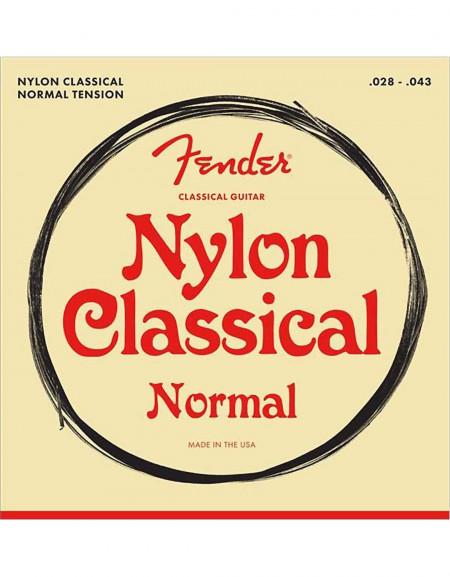Fender Classical/Nylon Guitar Strings, Normal Tension