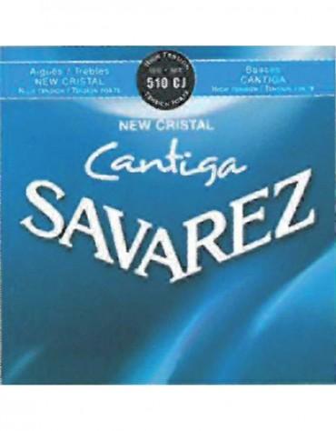 Savarez 656.267, 510CJ Set, New Cristal Cantiga, Strings for Classical guitar