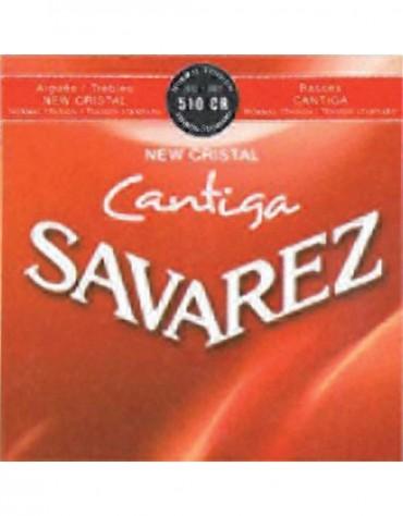 Savarez 656.277, 510CR Set, New Cristal Cantiga, Strings for Classical guitar
