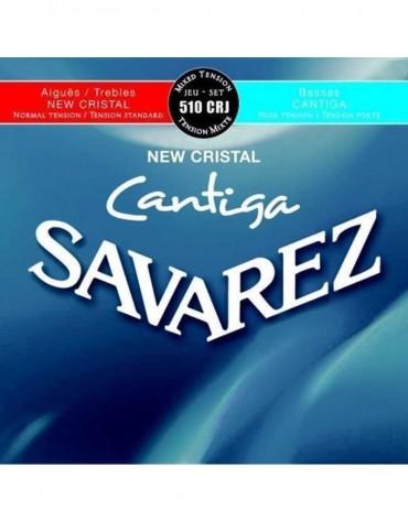 Savarez 656.287, 510CRJ Set, New Cristal Cantiga, Strings for Classical guitar