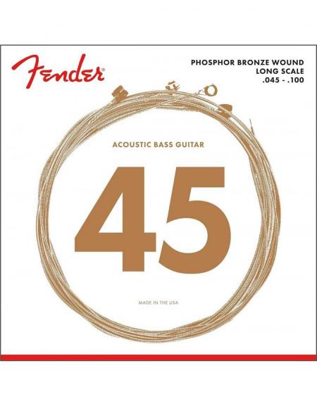 Fender 8060 Acoustic Bass Strings, (.045-.100)